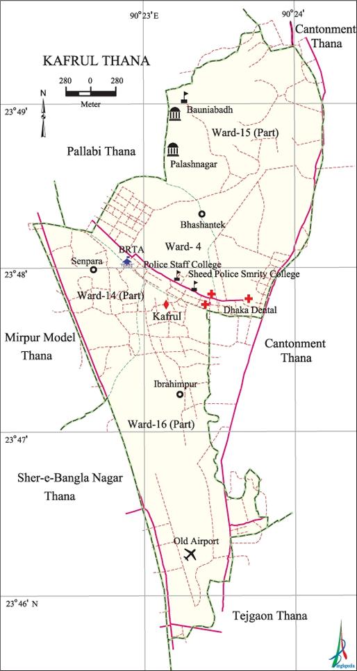 Kafrul Thana - Banglapedia