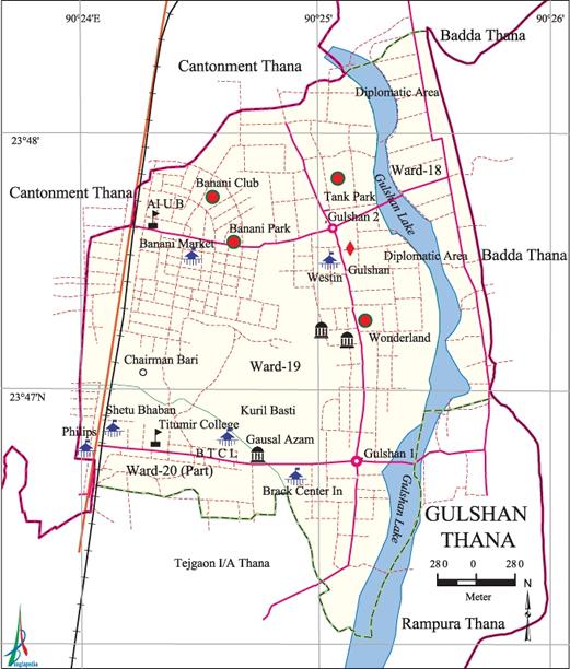 Gulshan Thana - Banglapedia