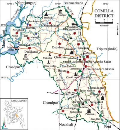 Comilla District Banglapedia