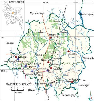 Gazipur District Banglapedia