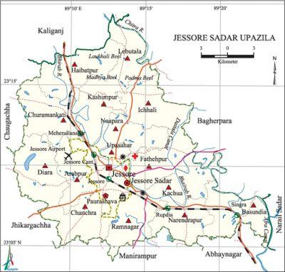 Jessore Sadar Upazila Banglapedia