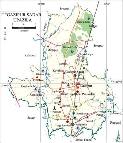 Gazipur Sadar Upazila Banglapedia