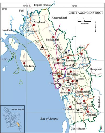 Chittagong District Banglapedia