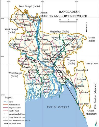 Transportation Network Bangladesh Investment Development Authority