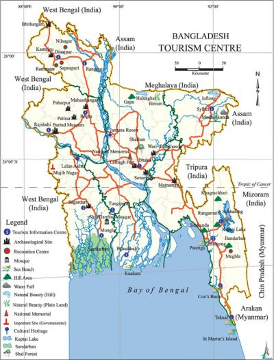 Tourism - Banglapedia