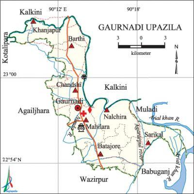 Gaurnadi upazila